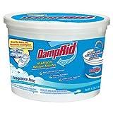 DampRid FG50T Hi-Capacity Moisture Absorber, 4-Pound Tub (6)