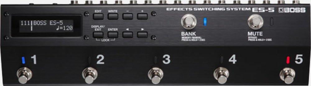 BOSS ES-5 guitarra pedal Pedal de Efectos Looper y sistema de ...
