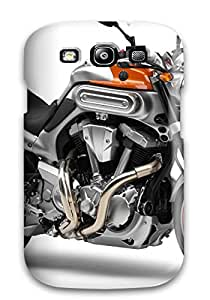 Perfect Yamaha Motorcycle Case Cover Skin For Galaxy S3 Phone Case