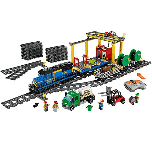 LEGO City Cargo Train 60052 Train Toy (Cattle Wagon)