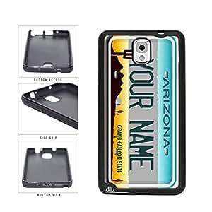 Personalized Custom Arizona License Plate TPU RUBBER SILICONE Phone Case Back Cover Samsung Galaxy Note III 3 N9002