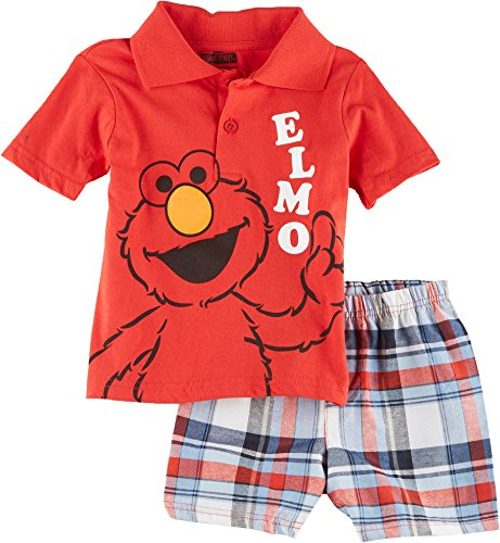 Sesame Street Elmo piece Shorts