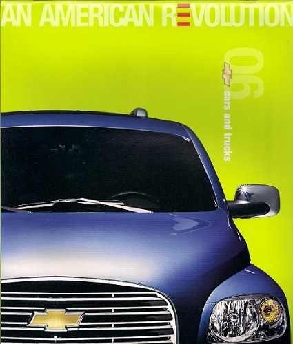 2006 CHEVROLET CARS & TRUCKS FULL LINE PRESTIGE COLOR SALES BROCHURE - USA - EXCELLENT ORIGINAL !!