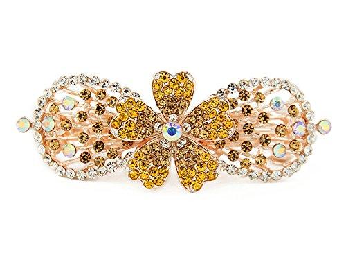 Yeshan Vintage Jewelry Rhinestone Barrette