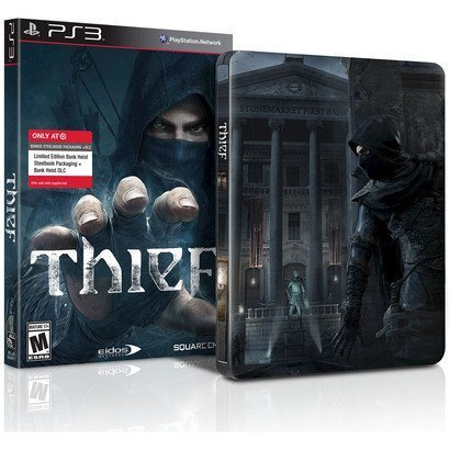 Thief Collectible Limited Edition Steelbook Case (G1 XBOX 360 PS3 PS4 XBOX ONE) NEW