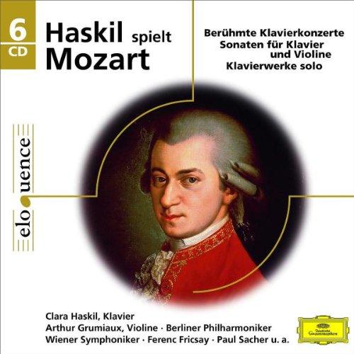 Clara Haskil: Haskil Spielt Mozart (Eloquence) (Audio CD)