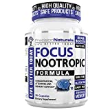 Precision Naturals Focus Nootropic Supplement – Enhance Brain Performance, Focus and Memory with Balanced Nutrition