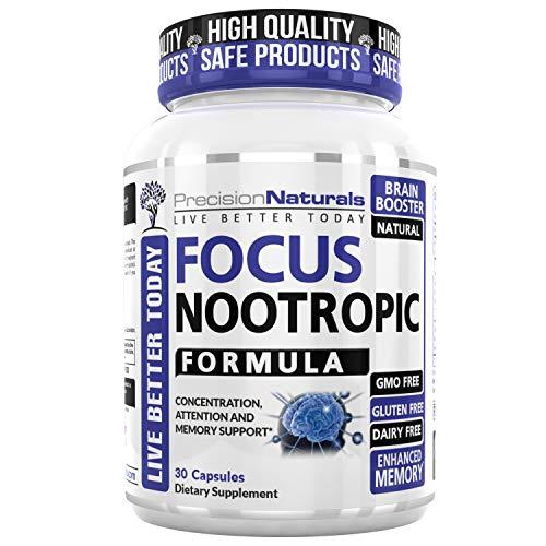 Precision Naturals Focus Nootropic Supplement