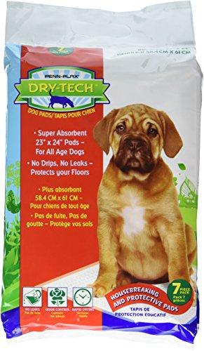 - Pen Plax DTP1 7 Count Dry-Tech Doggie Pads w/Natural Attractant, 23