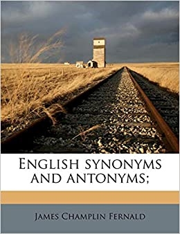 Buy English Synonyms and Antonyms