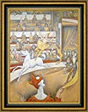"""This 22.25"""" x 27.25"""" premium giclee canvas art print of The Circus by Georges Seuratis meticulously created on artist grade canvas utilizing ultra-precision print technology and fade-resistant archival inks.Every detail of the artwork is reproduced..."""