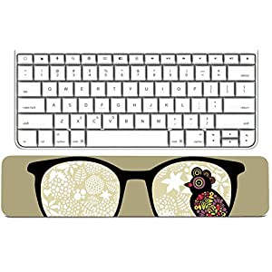 MSD Keyboard Wrist Rest Pad Long Extended Arm Supported Mousepad Cat and dog resting together on bed Image 3090271 Customized Tablemats Stain Resistance