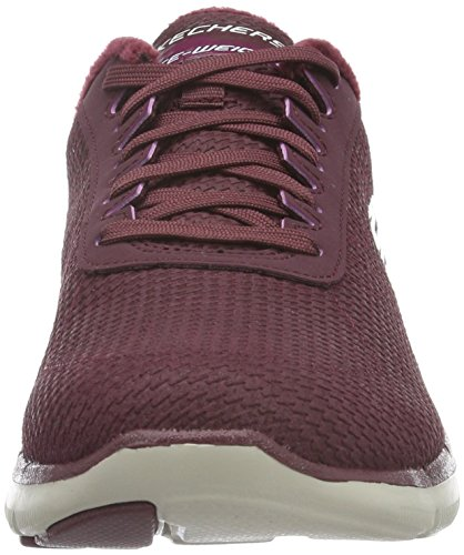 Skechers Flex Appeal 2.0 Shadow Play - Zapatillas Mujer Burg