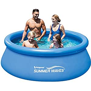 8 39 x 30 quick set round above ground swimming - Inflatable quick set swimming pool ...