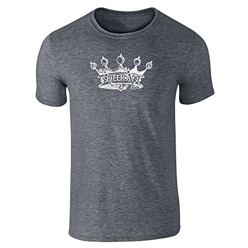 House Sheeran Crown Dark Heather Gray 3XL Short Sleeve T-Shirt