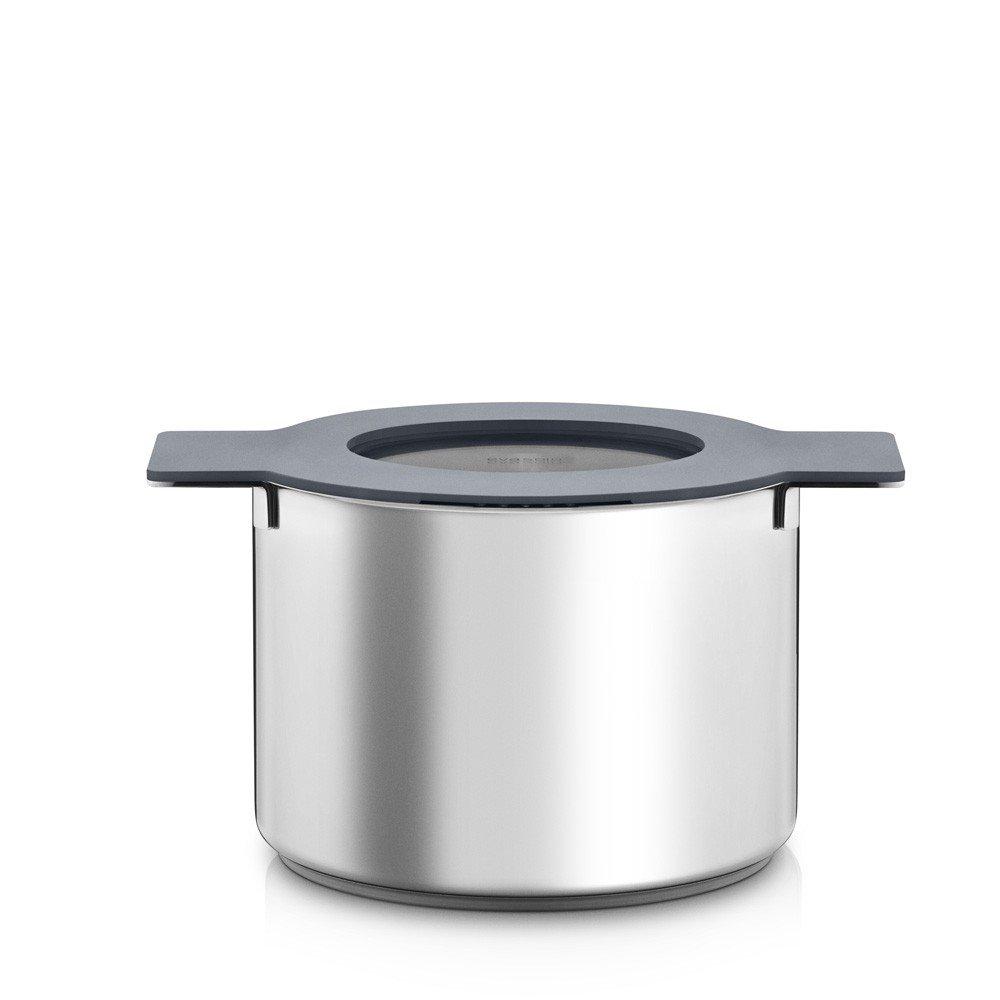Eva Solo Gravity Grey Pot with Lid 5.0L 22cm