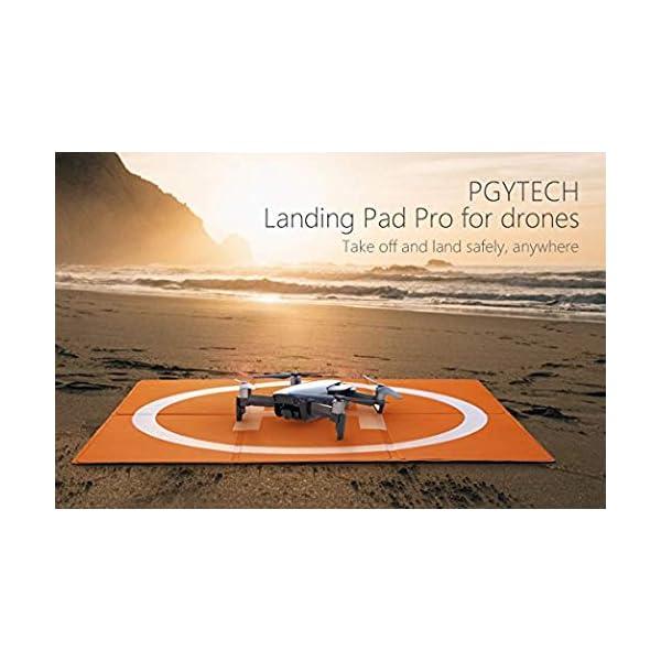 Changlesu RC Drone Landing Pad impermeabile PU portatile pieghevole tappetino di atterraggio per DJI Mavic Air/Mavic Pro/Spark, con borsa per il trasporto, design a doppia faccia 4 spesavip
