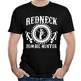 TsiaeaKc Men's Zombie Redneck Zombie Hunter Short Sleeve T Shirt...