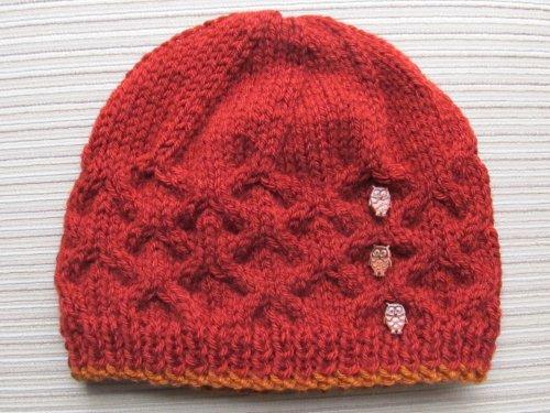 Knitting Pattern Lattice Stitch Hat