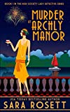 Murder at Archly Manor <br>(High Society Lady Detective)	 by  Sara Rosett in stock, buy online here
