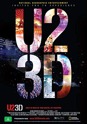 Used, Movie Posters U2 3D - 27 x 40 for sale  Delivered anywhere in USA