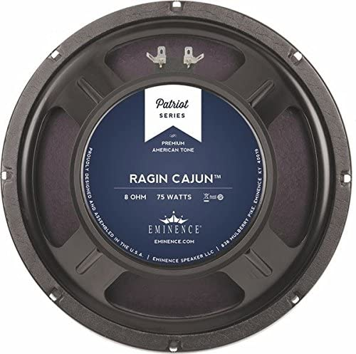 "EMINENCE Patriot Ragin Cajun 10"" Guitar Speaker, 75 Watts at 8 Ohms (RAGINCAJUN)"