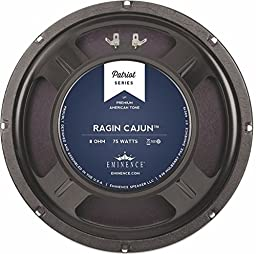 Eminence Patriot Ragin Cajun 10'' Guitar Speaker, 75 Watts at 8 Ohms