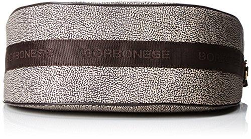 Classico Donna Cm Luna Borbonese 35x38x15 w H Marrone Borsa op X L A marrone Tracolla xpOnCqO