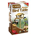 Premium free standing wooden bird tab...