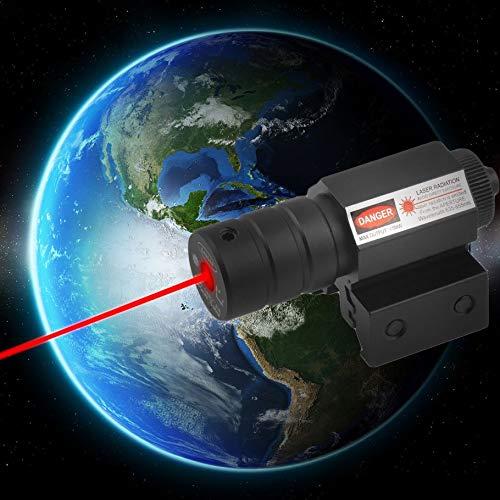Silverfer Alcance t/áctico del Haz de luz l/áser de Caza de Punto Rojo con mira para Montaje r/ápido para Disparar r/ápidamente a Objetos estacionarios en Movimiento