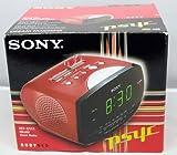 Sony ICF-C111 - Clock radio - ruby