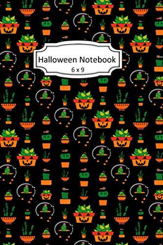 Skeleton Halloween Clipart (Halloween Notebook: [TYPE] Clip Art Images on 6 x 9 Blank Lined Softcover Journal for Notes , Halloween Gift Design Cover Note)