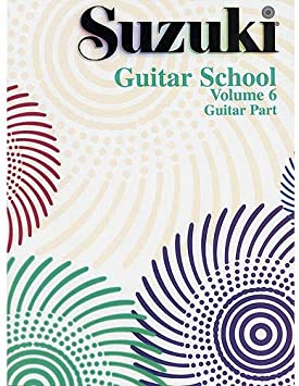 Suzuki Guitar School Volume 6 (Guitar Part). Partituras para ...