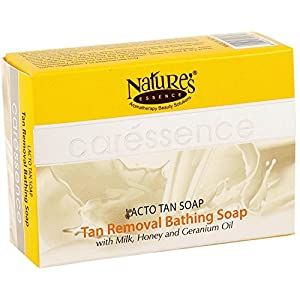 Nature's Essence Lacto Tan Clear Fairness Soap, 75 g (Pack of 6)