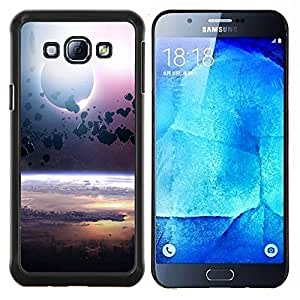 Queen Pattern - FOR Samsung Galaxy A8 A8000 - asteroid belt planet space cosmos universe - Cubierta del caso de impacto con el patr???¡¯???€????€???&A