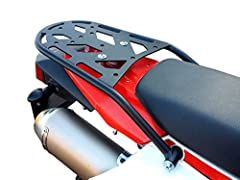 Our ENDURO Series rear racks are great for adding the extra storage needed for your next adventure. They are the perfect size for a backpack or small duffel bag. With a steel tube outer frame, they are built to handle any riding style you thr...