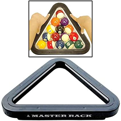 Amazoncom SpringLoaded Master Rack Billiard Table Accessory - How to rack a pool table