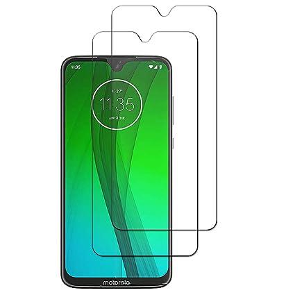 Amazon com: HKKAIS Motorola Moto G7 Plus Screen Protector