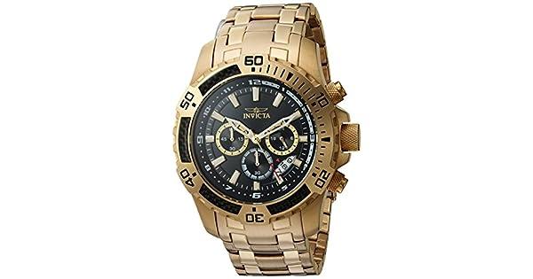 da8213036b7 Invicta  Pro Diver  cuarzo y acero inoxidable reloj Casual