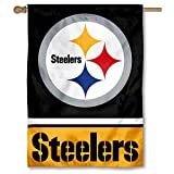 Pittsburgh Steelers Two Sided House Flag