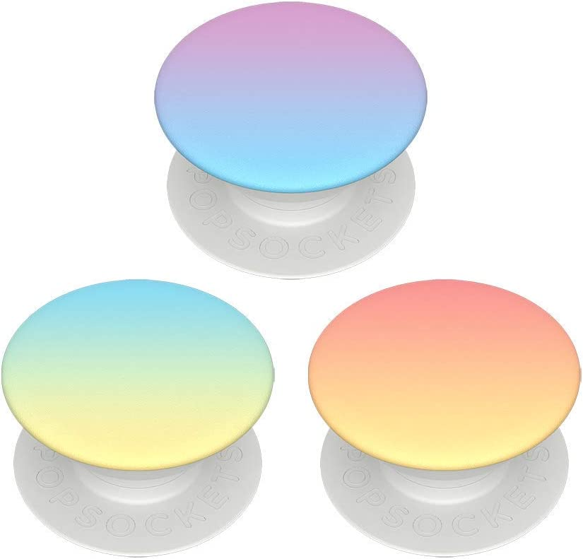 PopSockets PopMinis: Mini Grips for Phones & Tablets (3 Pack) - Misty Rainbow