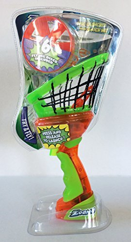 Zoom-o Disc Launcher with Catch Net by Blip Toys