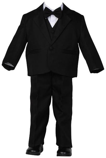 Baby Traje Negro Boda taufanzug Niño mosca Pantalones ...