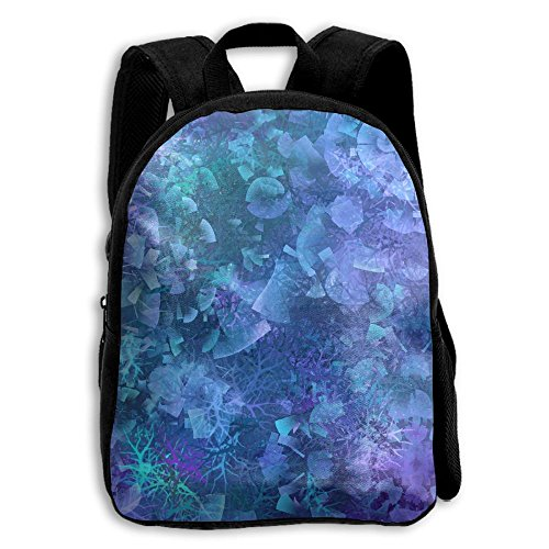 Beautiful Full Print Double Shoulder Backpacks For Kids School Bag Travel Daypack Gift