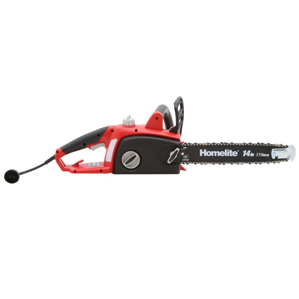Homelite 14 in. 9 Amp Electric Chainsaw PB40001