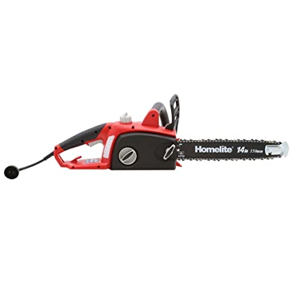 Amazon homelite 14 in 9 amp electric chainsaw garden outdoor homelite 14 in 9 amp electric chainsaw greentooth Image collections