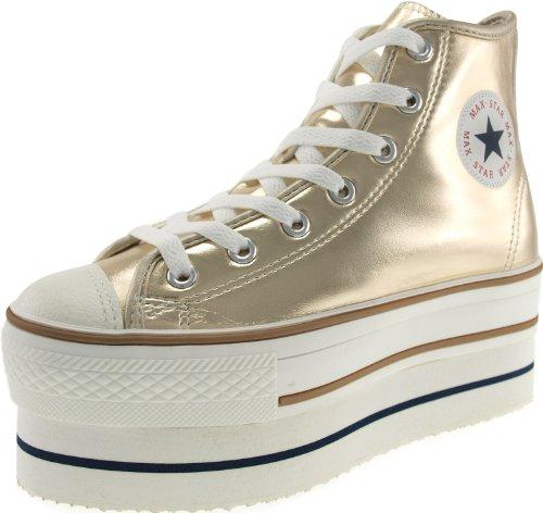 CN9 8H Tops TC Maxstar Sneaker Low Damen Gold d7wZZ5XqT