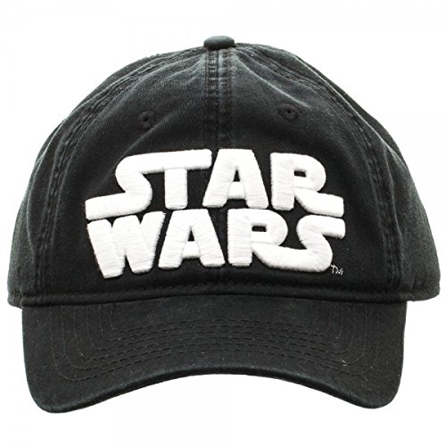 Star Wars Logo Black Adjustable Cap (Star Wars Revenge Of The Sith Trailer 2)