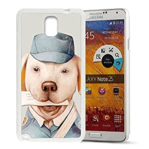 Animal Art Illustration Pattern HD Durable Hard Plastic Case Cover for Samsung Galaxy Note 3