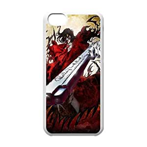 Hellsing Anime iPhone 5c Cell Phone Case White PhoneAccessory LSX_768948